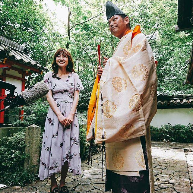 ブログ用本日奈良県漢國神社ゆり祭にて庖丁式奉納その模様が、奈良テレビ21日金曜…