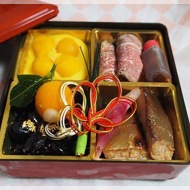 2020年おせち 京近江のお節料理 近江牛・琵琶鱒試食用のおせちでしたが内容がと…