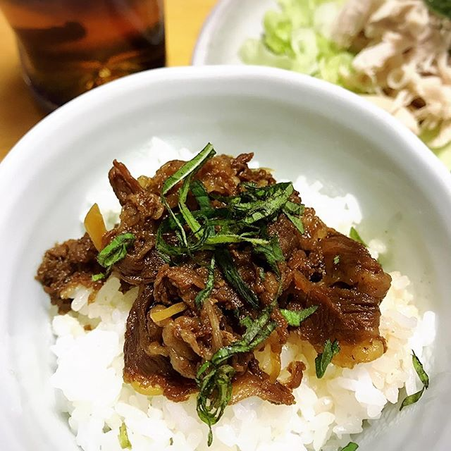 近江牛しぐれ煮丼❤️・創業100年京料理の名店【清元】さん・近江牛を使用した…