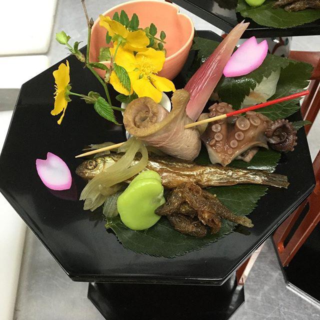 今日の前菜花見も終盤になります。
