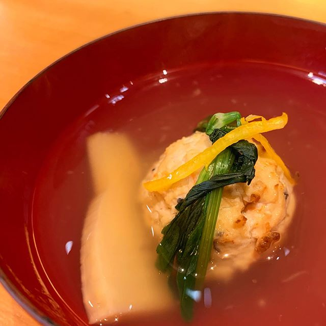 祖母の90歳の誕生日祝いで懐石料理を頂いた…うまい、うまいよ和食…!おばあちゃ…