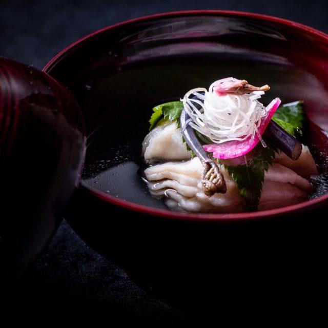 琵琶湖のまちか煮物椀