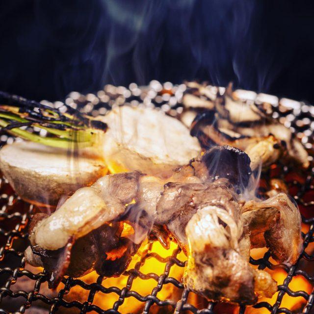猪肉炭火焼
