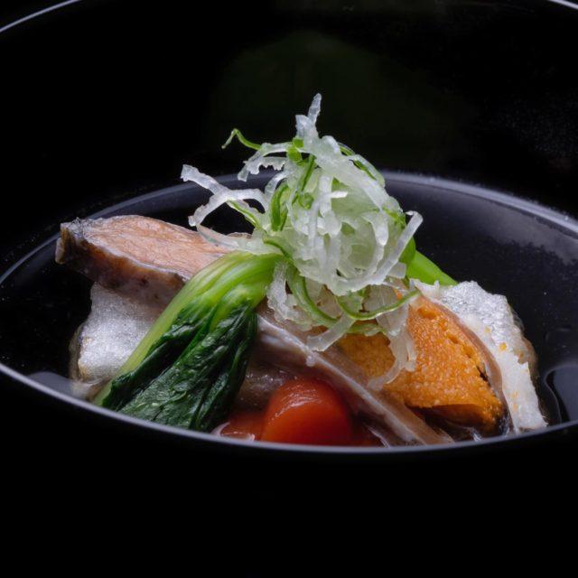 煮物椀 鮒すし餅